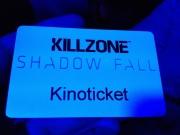 Le ticket pour accéder à la présentation de Killzone Shadowfall
